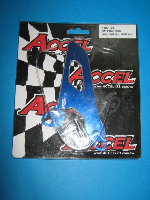 Front Sprocket Covers Accel Yamaha YZ450F FSC-06