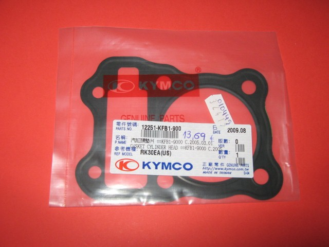New Parts Kymco